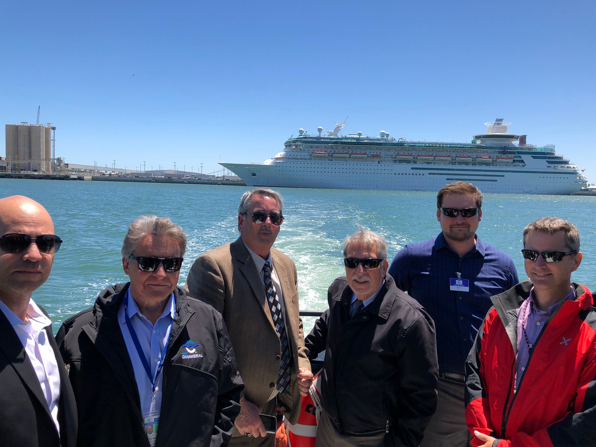 ... at the Port today for a tour and update on the Port's growth. They  discussed the increase in cruise & cargo ops and land/water infrastructure  ...