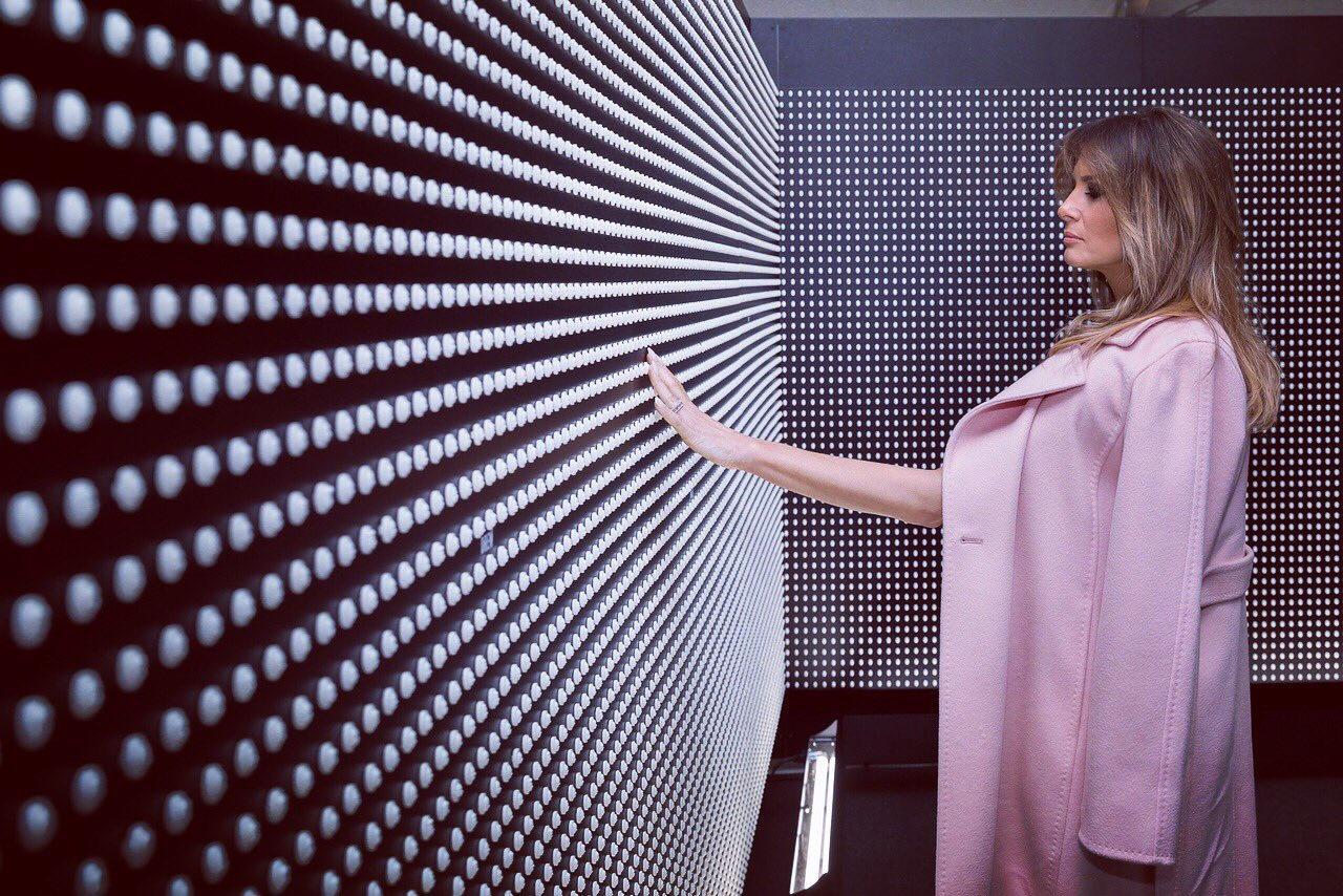 Reloaded twaddle – RT @FLOTUS: Very moving visit today - Prescribed to Death Opioid Memorial on t...