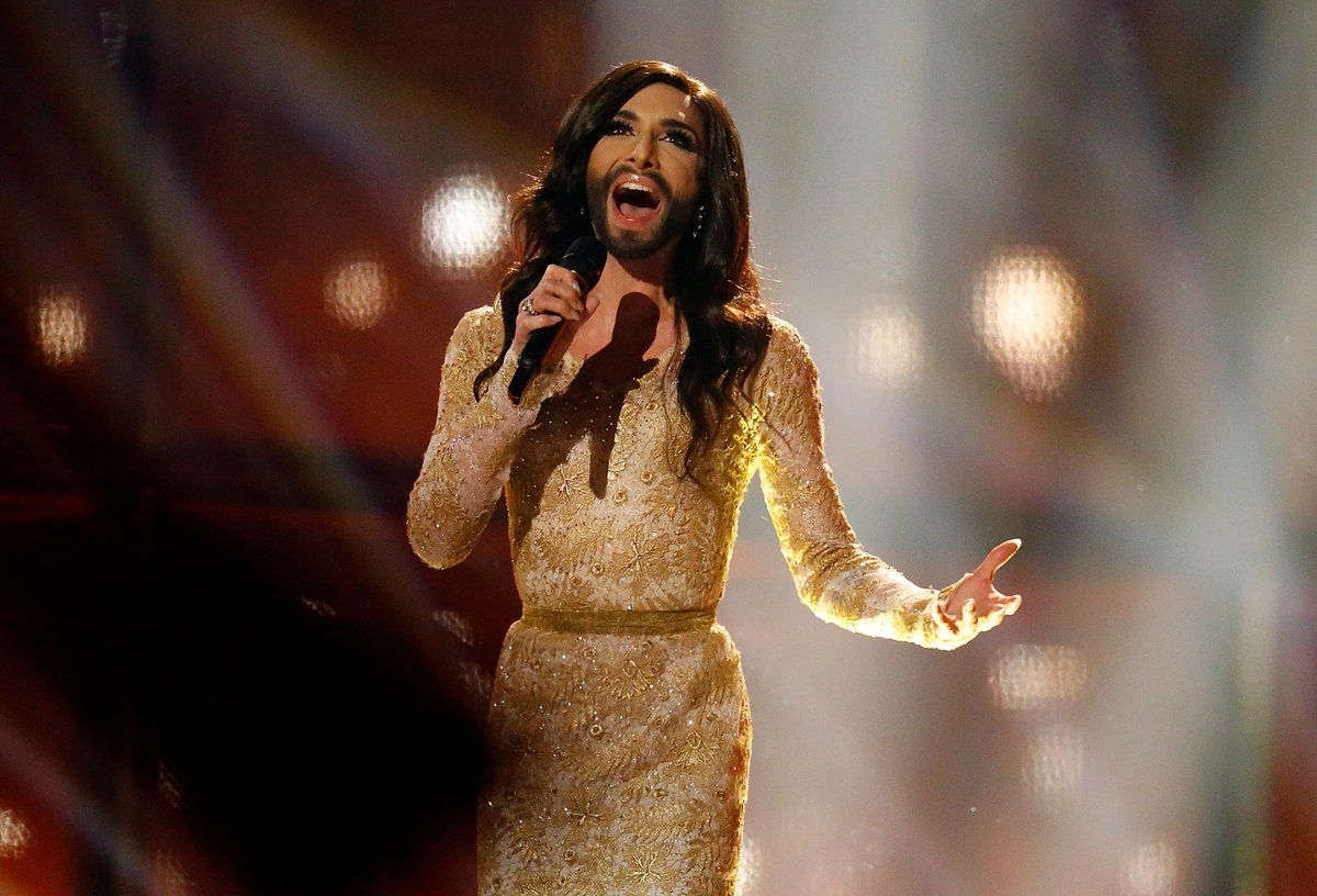 """Conchita Wurst, the drag queen who won the Eurovision Song Contest in 2014, came out as HIV+ after being threatened with blackmail. The singer wrote on Instagram that she hopes this is another step against the stigmatization of people who have become infected with HIV."""""""