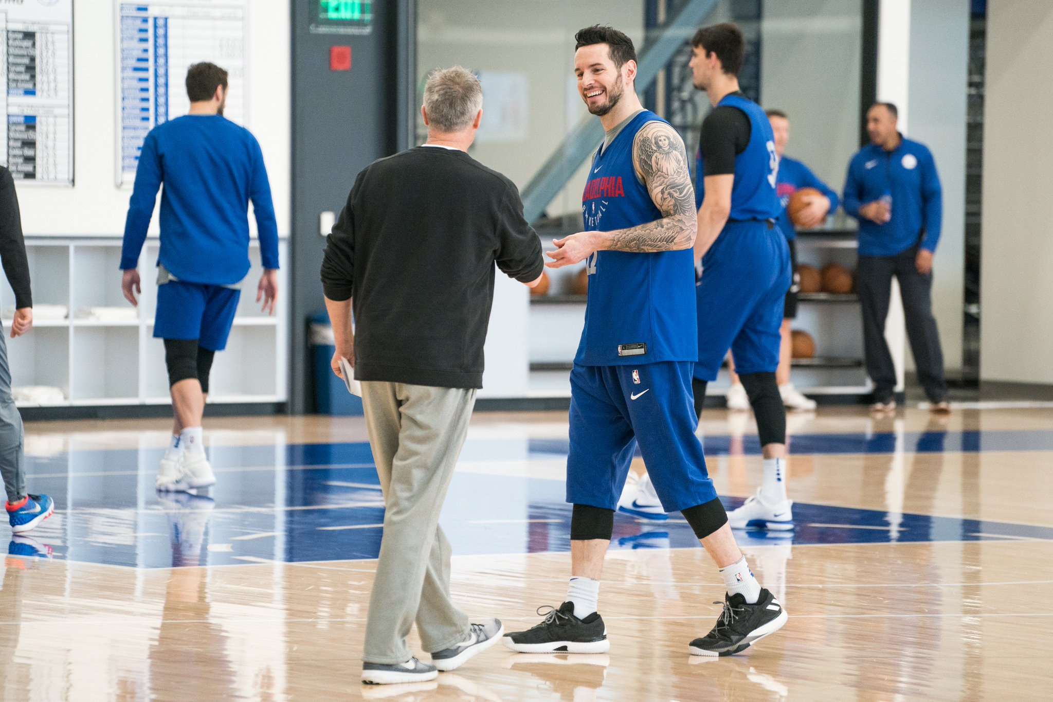 Some shots from shootaround for your viewing pleasure.   �� https://t.co/CDGfzu5Vey   Pres. by: @StubHub https://t.co/rQhKC3wMwT