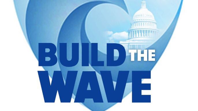 Big thanks to our @BuildTheWave volunteers.  Last month, we contacted 90K Conor Lamb voters to help get-out-the-vote.  This month, we contacted 60K unregistered Gen-Z &amp; Millennial voters to help get them registered.  Let's keep BUILDING THE WAVE together!  #NationalVolunteerWeek <br>http://pic.twitter.com/fNvMrF2yQl