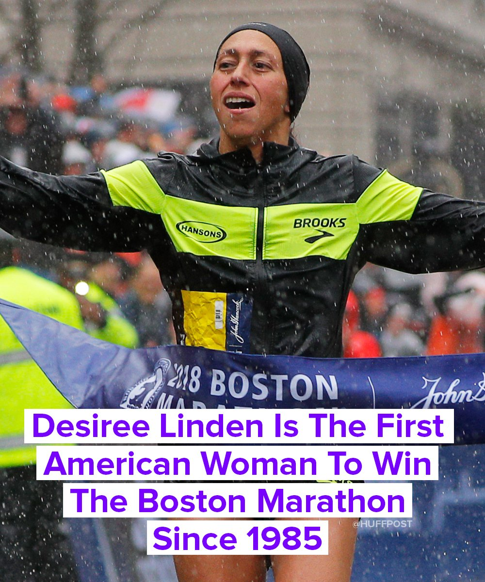Way to go, Desiree! �� #BostonMarathon #BostonStrong (��: Getty Images) https://t.co/GH8lsxhFfx