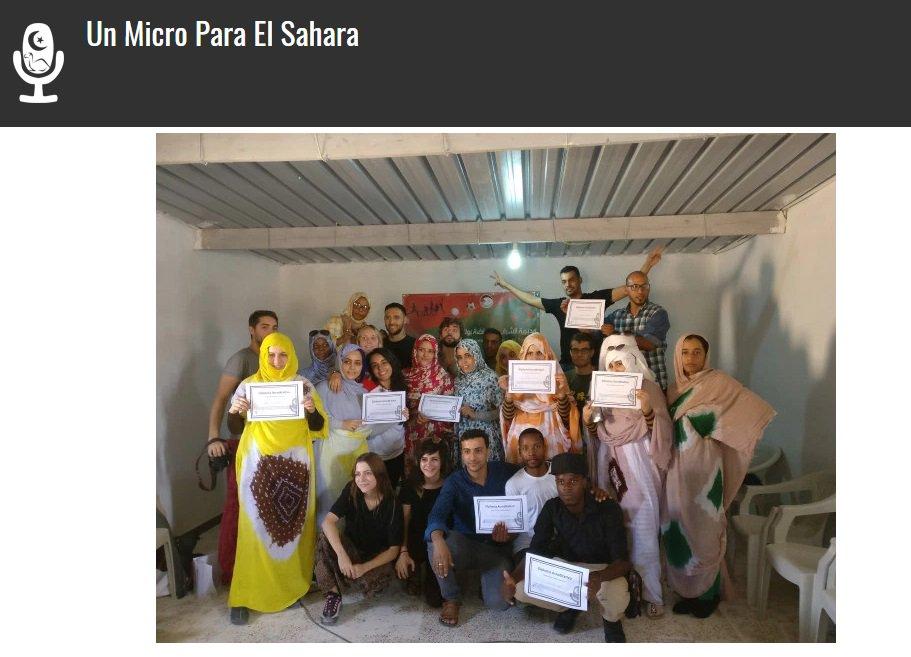 Un🎙️para el Sáhara's photo on #DiaMundialDeLaVoz