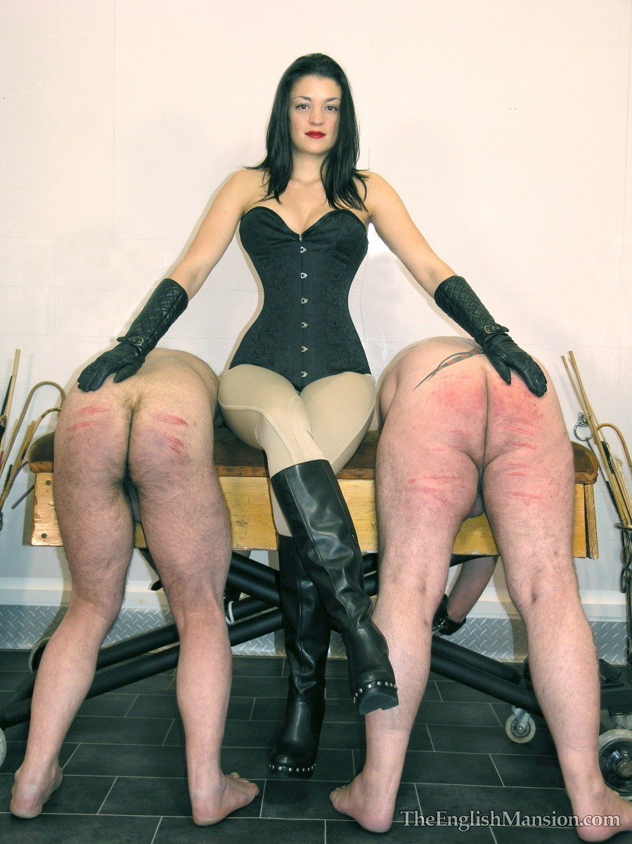 Fem dom spanking