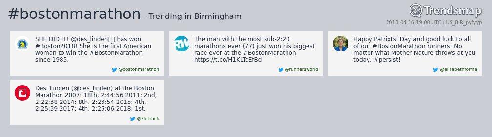 Trendsmap Birmingham's photo on birmingham
