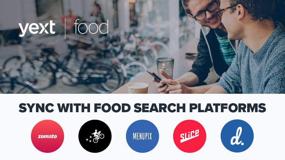 Yext On Twitter Did You Know That 68 Of Food Searches Occur