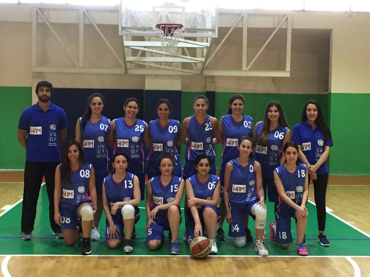 Congratulations to the women of the #UNDP team for winning the first game of the BAN-CO Women Basketball Championship 2018 today!  Women in sports continue to defy #gendersterotypes. #SDG5 #SDG10 #womenempowerment<br>http://pic.twitter.com/FheHhfUbSq