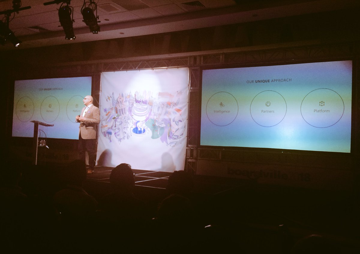 Security for digital transformation - Microsoft approach to secure cloud - Ankur Arora on #BOARDVille2018 #BOARDVilleVegas stage<br>http://pic.twitter.com/1mIep97v28