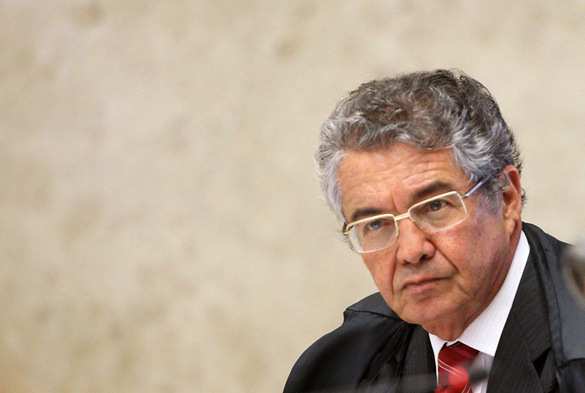 Ministro Marco Aurélio é o relator da denúncia oferecida pela PGR contra Jair Bolsonaro por racismo e manifestação discriminatória contra quilombolas, indígenas, refugiados, mulheres e LGBTs.