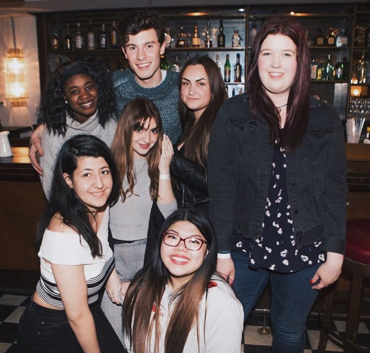 New pictures released of Shawn with fans...