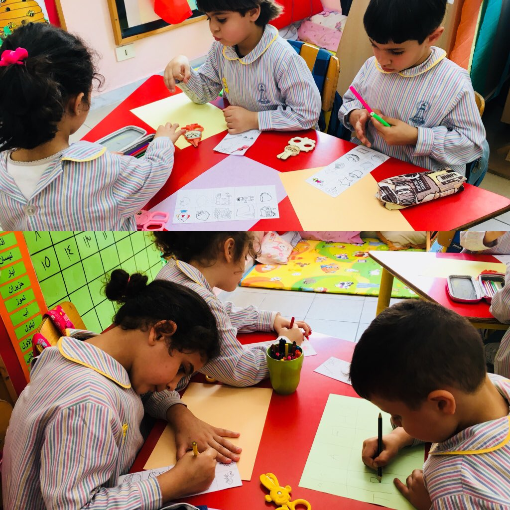 Initial sound picture sorting that helps learners not only recognize the initial sound in a word, but even correspond that sound to the letter #revising #letters #sounds —&gt; reinforcing phonemic awareness skills  @DawhaHighSchool<br>http://pic.twitter.com/Sex4mwwEmR