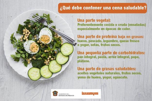 Cenas con carbohidratos saludables