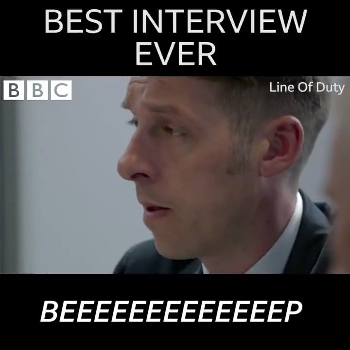 That tape beep always lasts a little *too* long... #LineofDuty https://t.co/vNavodIXDw