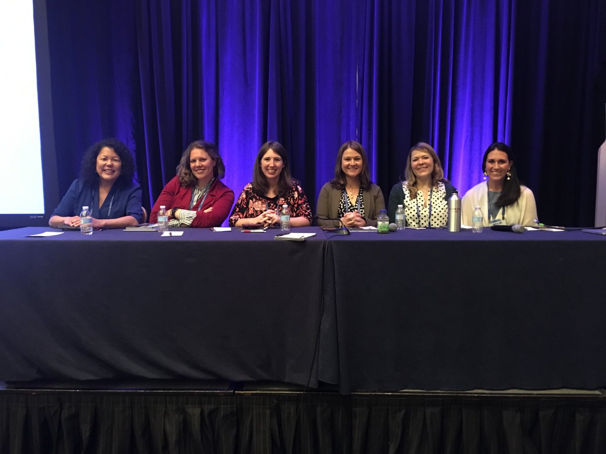 Thanks everyone for a really great discussion about women in tech! #ATLIS2018 #atlisac @jenniever @Ashly2499 @EducatorsAlly @LisaLamontTech @tatyanakgriffin<br>http://pic.twitter.com/s2kdevHvEM