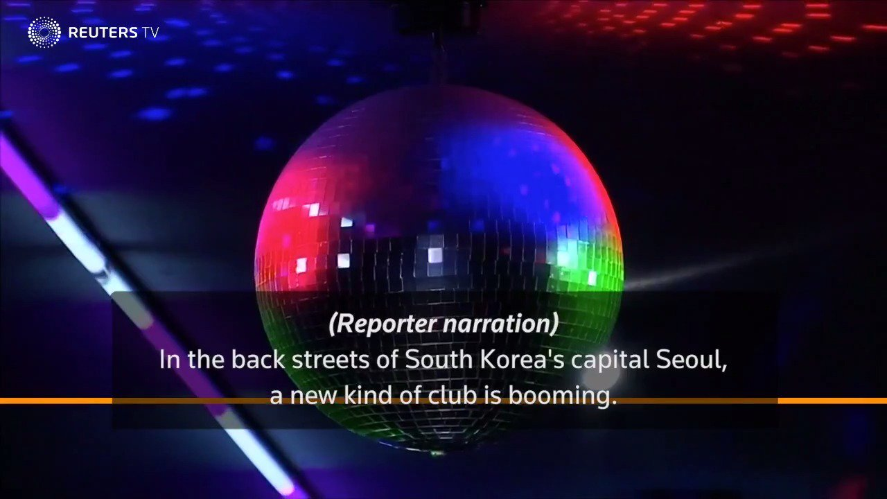 Retirees in South Korea find fun in daytime discos https://t.co/Voz49zfAxU via @ReutersTV https://t.co/3tubXJ54Ry