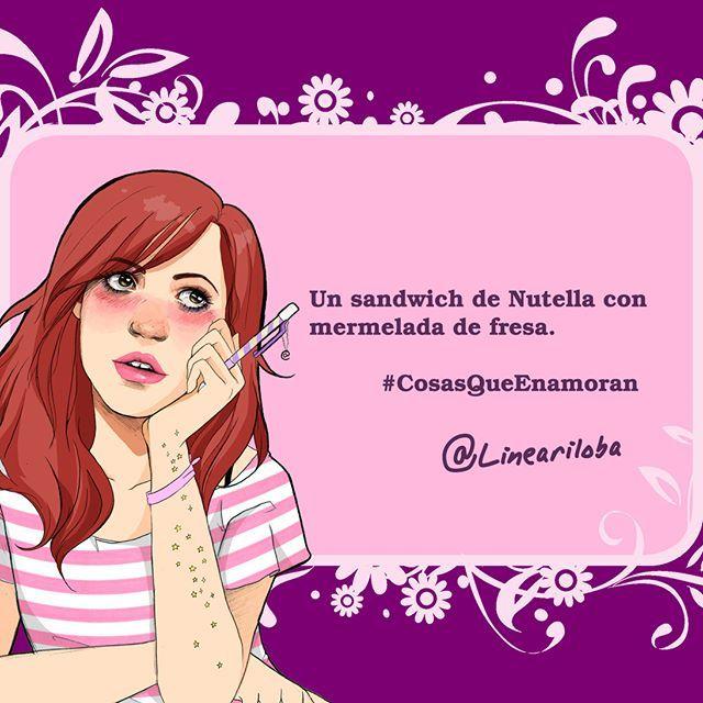 Angelica Lineariloba On Twitter Un Sandwich De Nutella