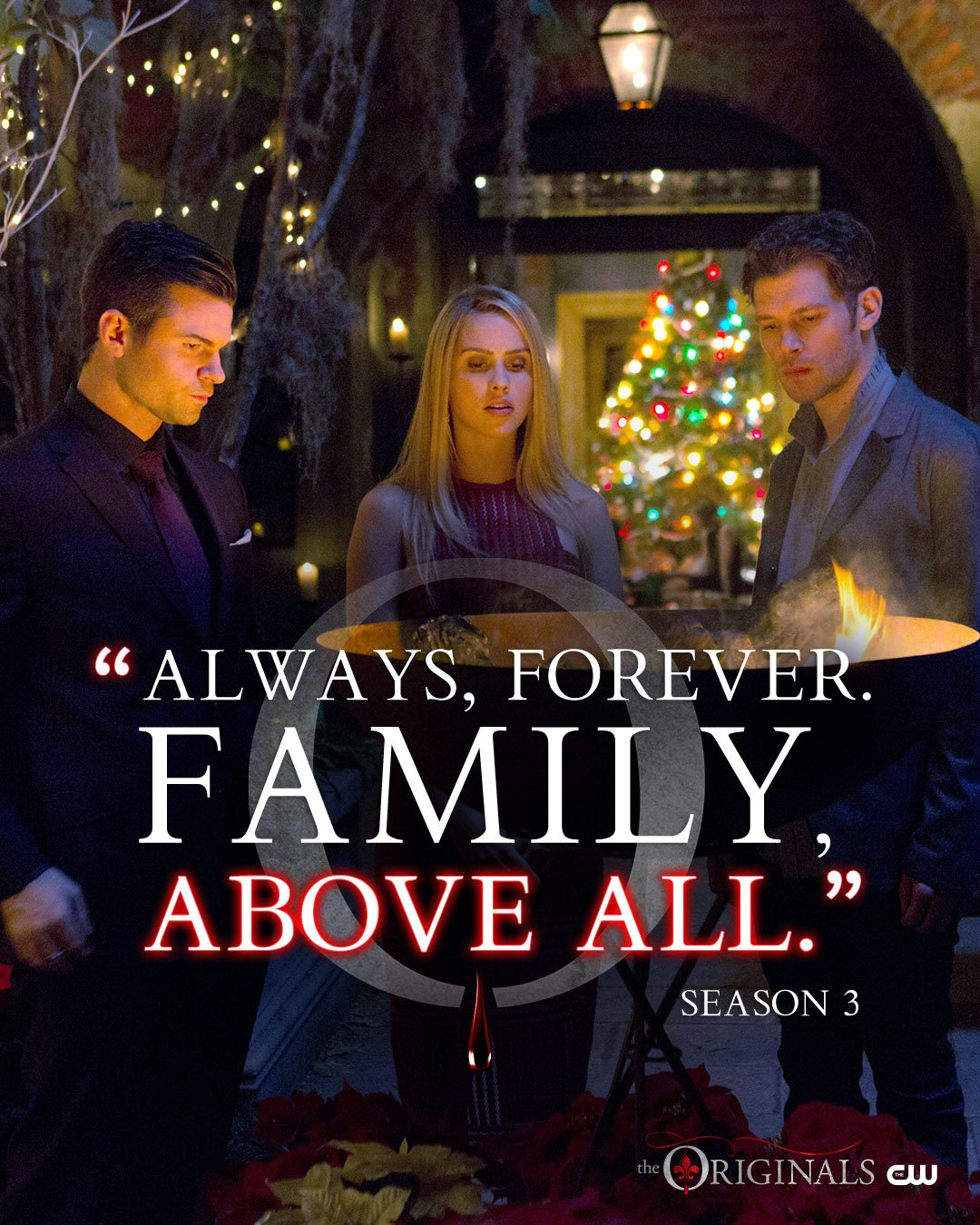 There's nothing more important than family. The final season begins TOMORROW at 9/8c on The CW. #TheOriginals https://t.co/092NyAsUJg