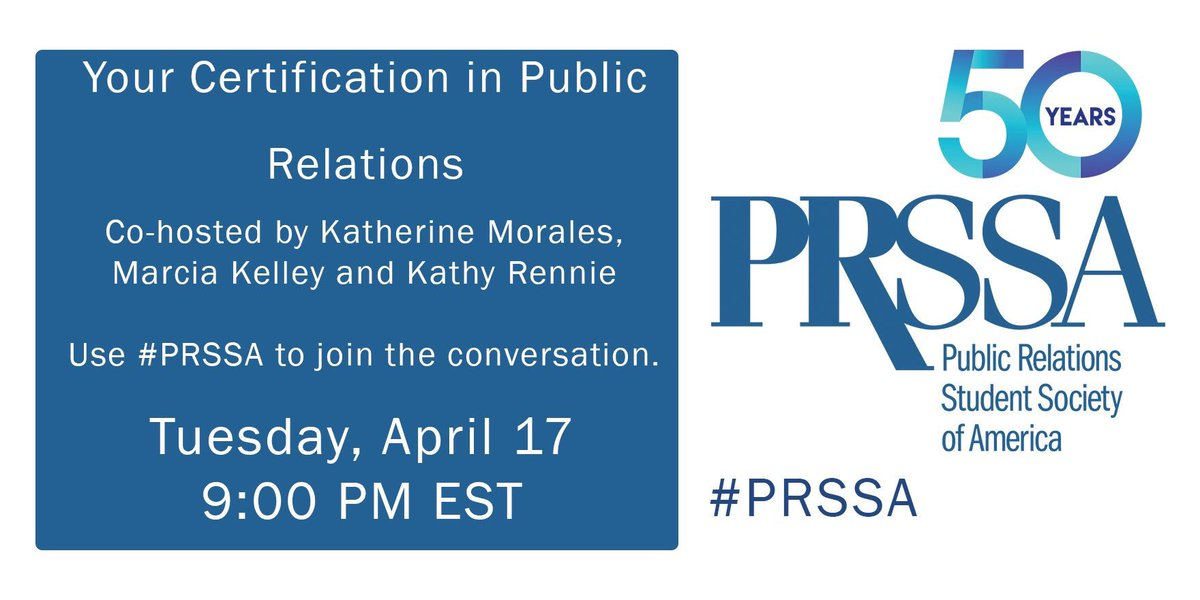"""prssa on twitter: """"have you heard of the pr certification? learn all ..."""