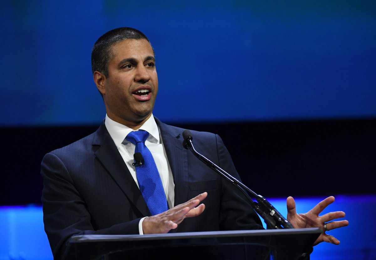 Broadband advisor picked by FCC Chairman Ajit Pai arrested on fraud charges https://t.co/lM2vtCd7q7