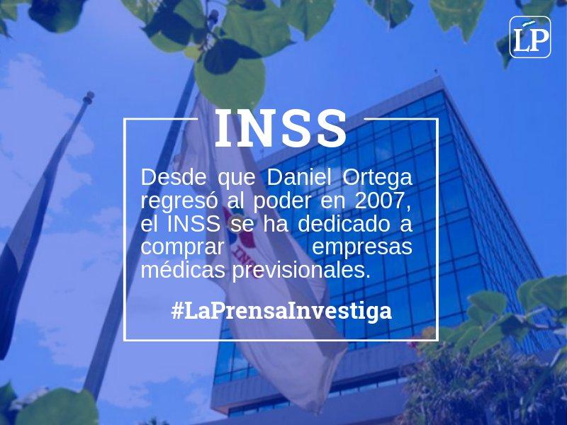 La Prensa Nicaragua's photo on INSS