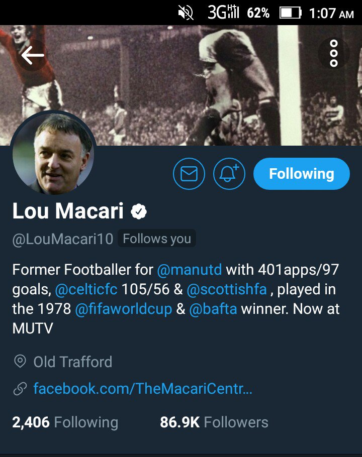 THANK YOU SOOOOO MUCH @LouMacari10 ❤❤❤❤❤❤❤  It's an honour !!! #GGMU #MUFC #MUFC_FAMILY 💥💥💥💥😈😈😈