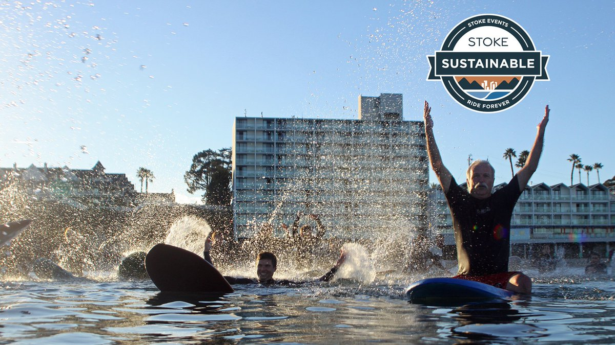 The 2018 #GlobalWaveConference is the 1st event to become #STOKEcertified at the #Sustainable Level! Congrats @SaveTheWaves & @Surfrider for putting on an incredible conference that blew minds while staying true to their #oceanconservation themes: http://ow.ly/8FbZ30jwtKB pic.twitter.com/HdcjdIoEyW