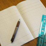 無意味な習慣w指定ノートにひたすら線を引く「連絡帳」を作らされる保護者!