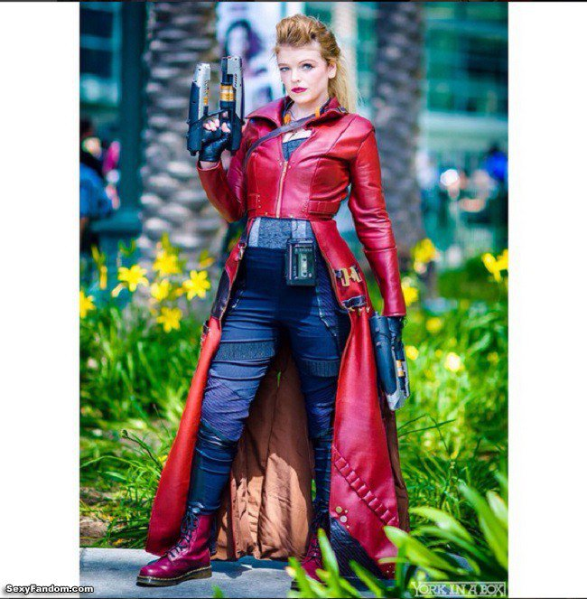 Sexy Fandom: Star Lord Cosplay by Catherine The Panda...