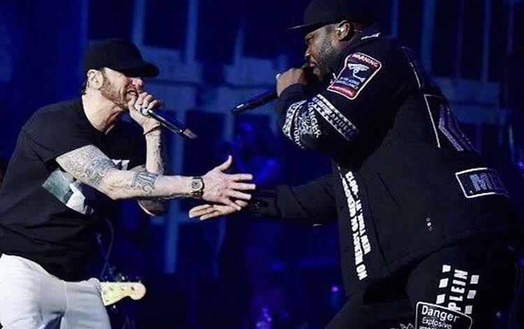 LEGENDARY @Eminem ����#lecheminduroi https://t.co/HtQ4ThLCaM