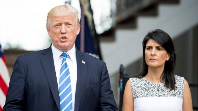 Trump stopped new sanctions on Russia after Haley announced them: report https://t.co/fn1sMR9ugV https://t.co/HdDxrZbcFd