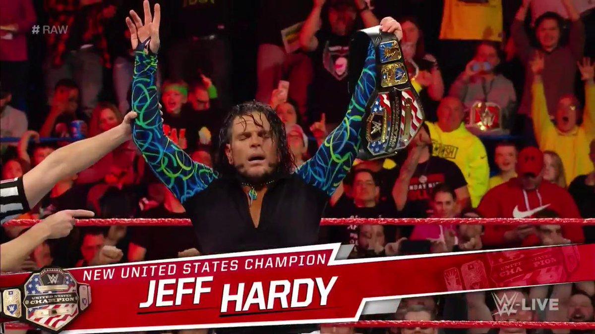 Jeff Hardy Has Won The Following Titles WWE World Heavyweight Intercontinental European Light Hardcore Tag Team RAW Now New