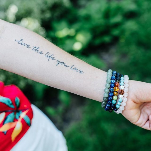 Are you living the life you love? I try my best, but my tattoo is a great daily reminder to really pay attention to the important things in life  . . . . . #chakrabalance #beautyrituals #crystalhealing #cleanbeauty #radiantbeauty #highvibe #inspiri…  https:// ift.tt/2JQl5ZX  &nbsp;  <br>http://pic.twitter.com/fbN6SsKRDv