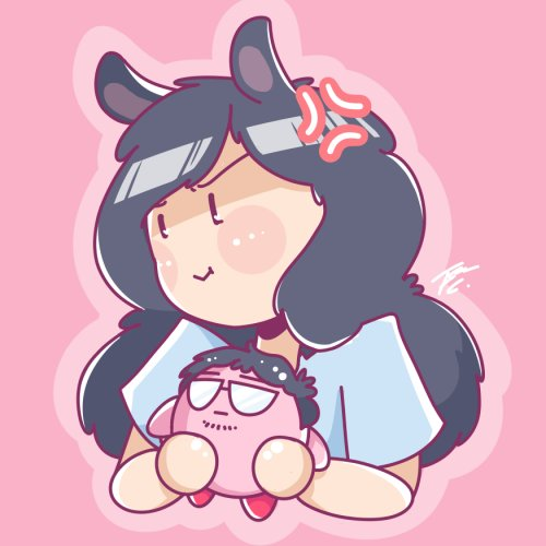 Startin off my Twitter with some fan art :>  it's not like i like you or anything @lol_Emiru @Dyrus