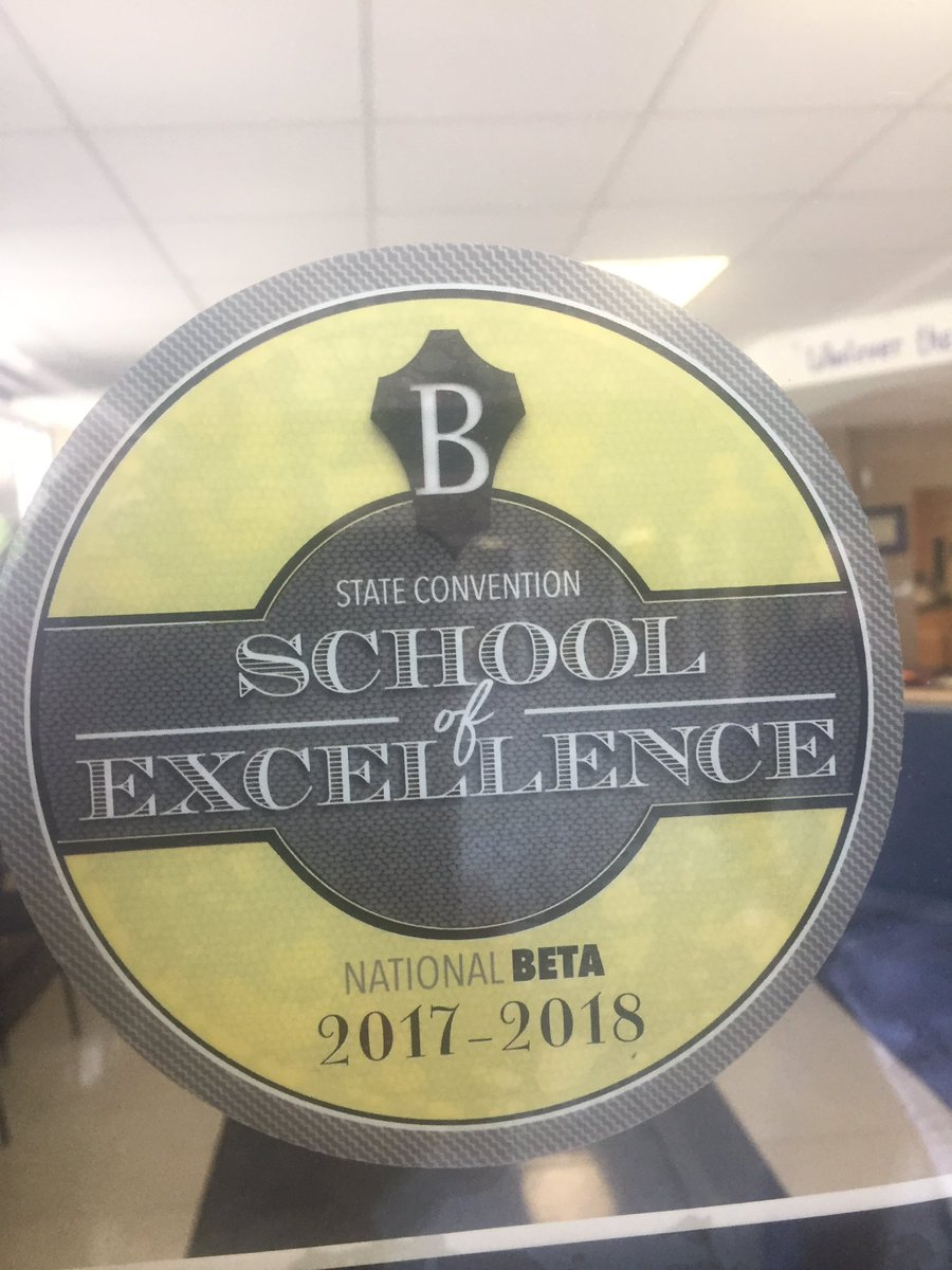 Congratulations Burger Beta for being named a State convention School of Excellence #HeadingToNationals #Savannah,GA #TogetherBurgerWINS @HpsdSup @HPSD @nationalbetapic.twitter.com/BpYPxcqKxS