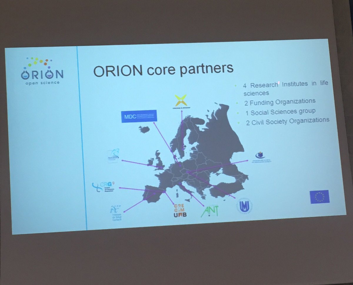 Great to be @Foundazione_ANT for @ORION_opensci AGM with @ems7681 looking forward to discussing #rri #openscience #publicengagement <br>http://pic.twitter.com/PWwYioJSCE