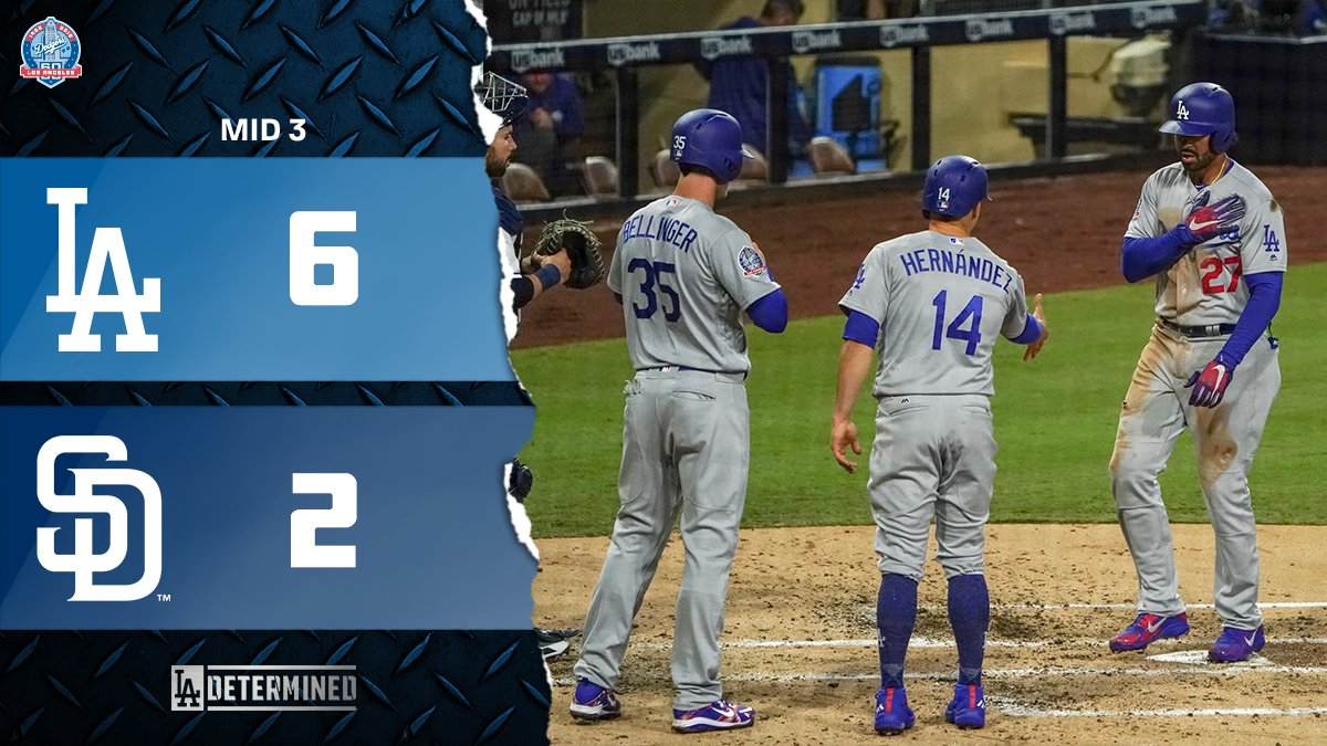 That was a very good inning.  Please RT if you agree. #Dodgers https://t.co/xQMsSRdRKh