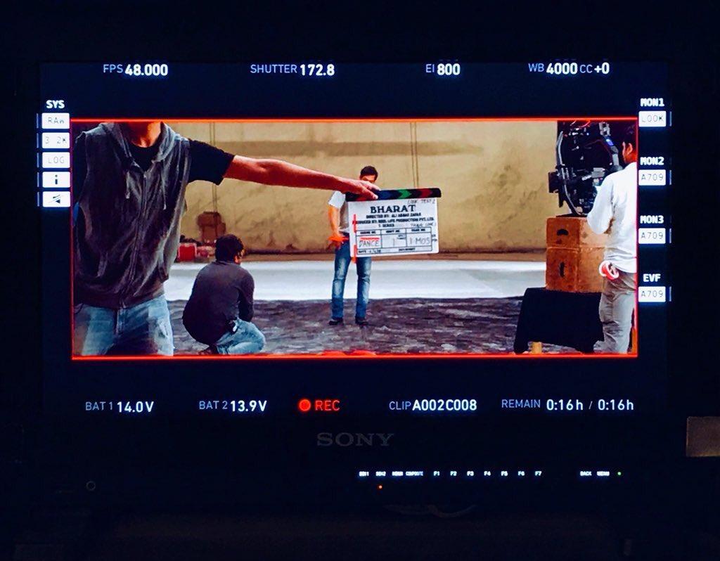 Salman Khan Starts Shoot for Bharat Movie