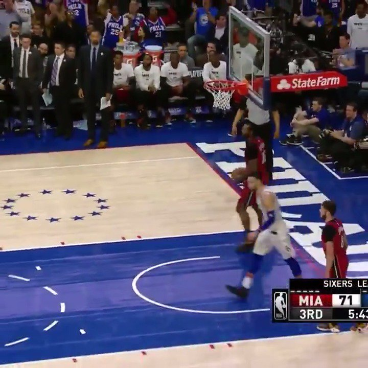 Ben Simmons finished with 24 PTS, 9 REB, & 8 AST in Game 2.  #PhilaUnite https://t.co/ttiChSfRp5