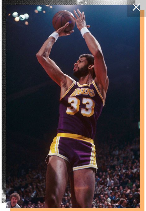 Happy 71st Birthday to the greatest Big man to ever play! Kareem Abdul-Jabbar
