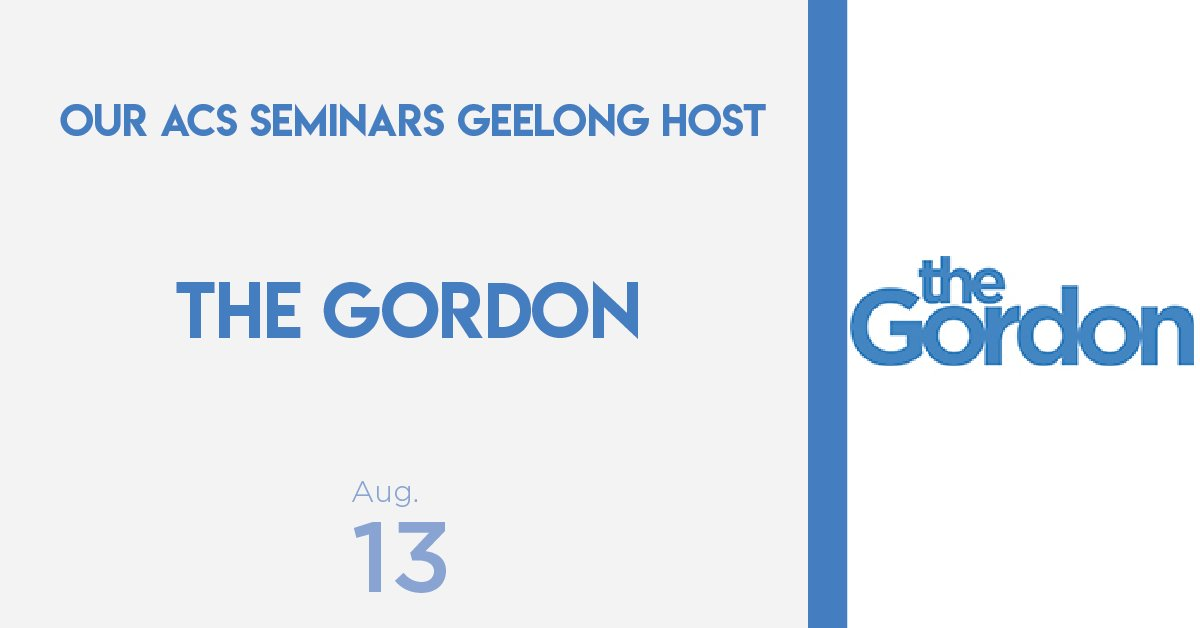 test Twitter Media - We are beyond excited to be holding our second regional #ACSSeminar in Geelong! To be hosted once again by @GordonTAFE at their wonderful campus!  For more information and to register for this event visit the Geelong event page: https://t.co/NHrQfHjLfD https://t.co/8eXERoSrC4