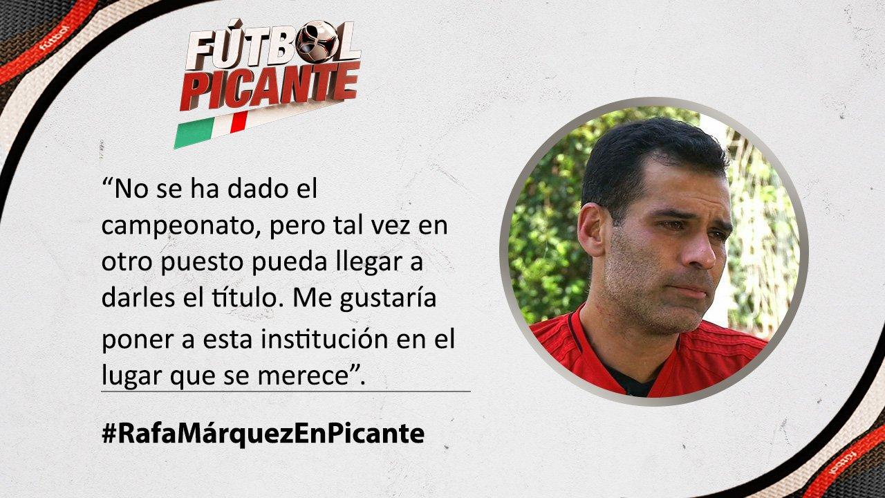 Rafa Máquez quiere sí o sí éxitos con Atlas y el Tri ����  #Imperdible   ��https://t.co/Shmx1RjXYA https://t.co/A9OxQDWtcP