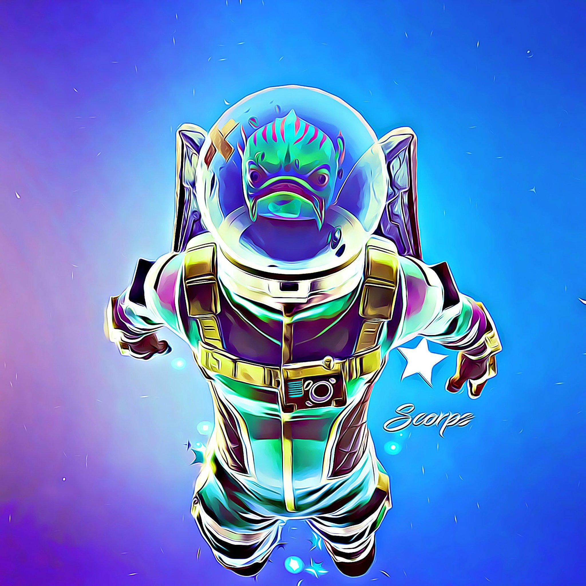 "Fortnite Drawings: Scorps On Twitter: ""The Leviathan Fan Art @FortniteGame"