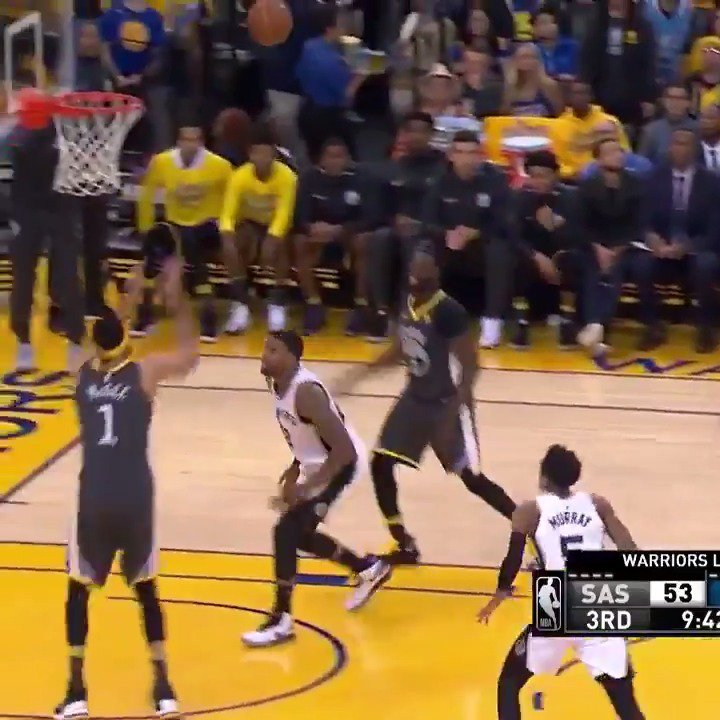 The best of JaVale McGee through 2 games as the @warriors take a 2-0 lead!  #DubNation #NBAPlayoffs https://t.co/EhcX7KHIxR