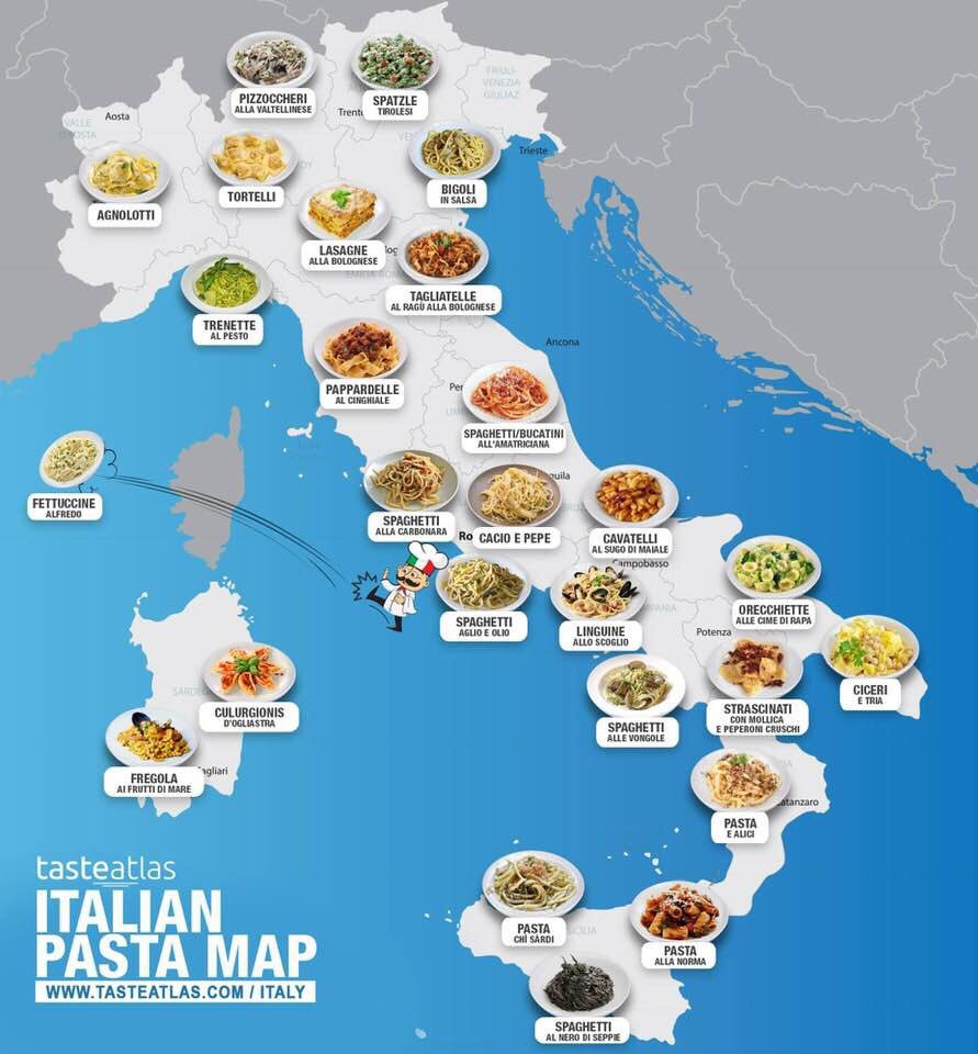 Fabrizio Lobasso On Twitter Some Nice Italian Pasta Map Wide