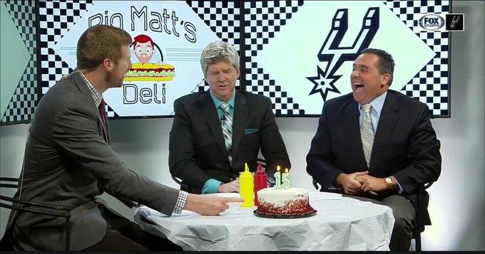 Happy Birthday Matt Bonner! | SpursLive