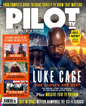 Hugh Grant exclusive on A Very English Scandal! Michael C Hall on new @HarlanCoben Netflix drama Safe! 1st look at new Alan Partridge! @NoelClarke's 1st interview for his @sky1 show Bulletproof! On set of Westworld season 2! All about Luke Cage! ONLY in  o#PilotTVMagut NOW!