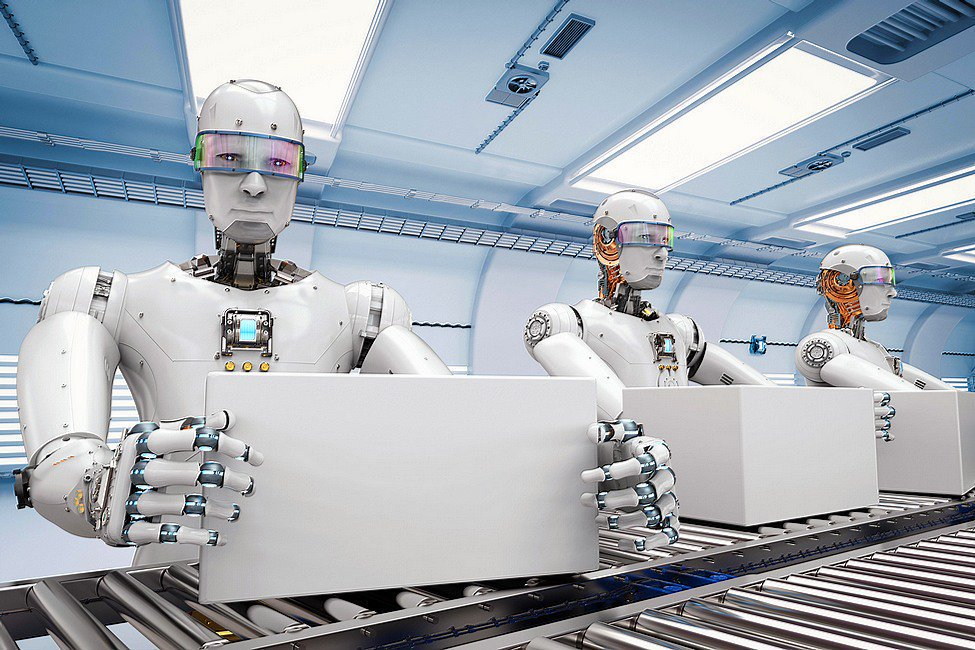 того, внедрение картинки о замене человека роботами российской