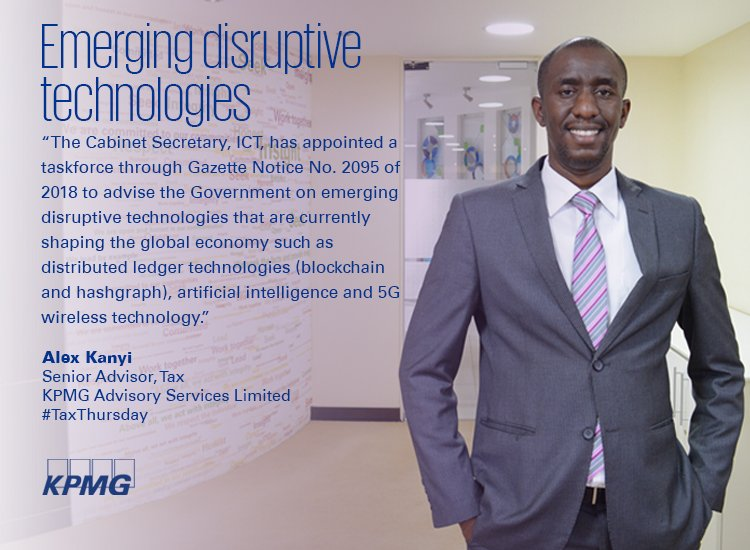Kpmg East Africa On Twitter Taxthursday Alex Kanyi At Alexmkanyi