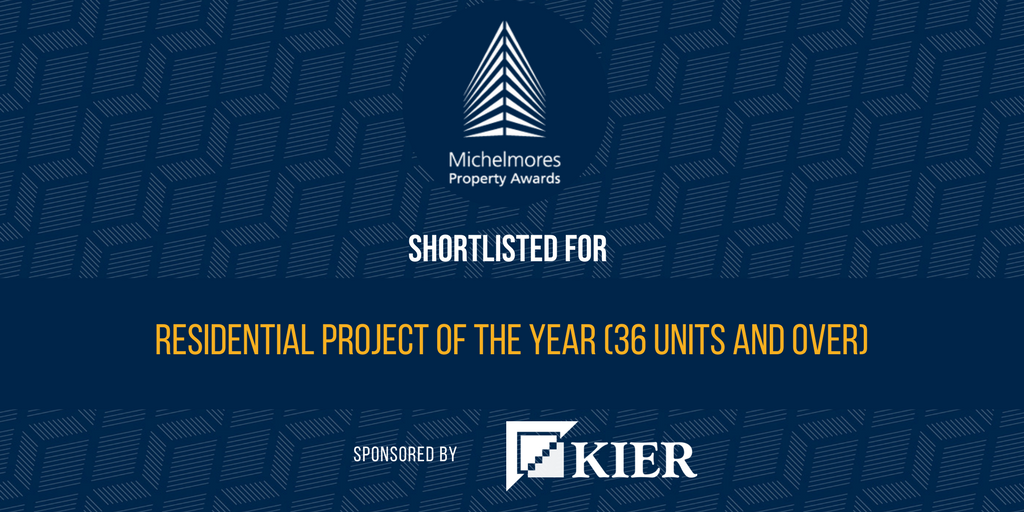 We are so excited to announce we have been shortlisted for the Residential Project of the Year (36 units and over)! Thank you very much for your support & interest in this project. @MountWise @AMPlymouth  Feature Image