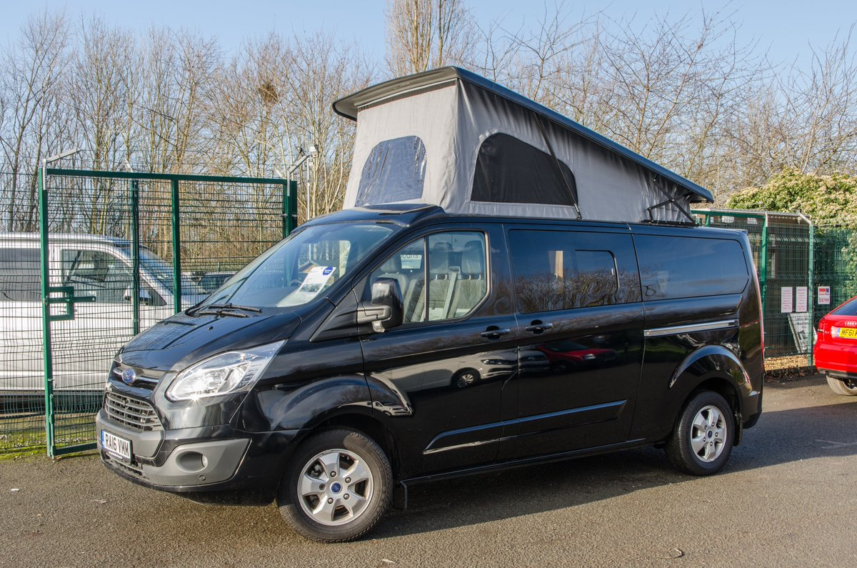 FOR SALE 2016 Ford Transit Campervan With Brand New Conversion Bodanscouk Custom For Sale